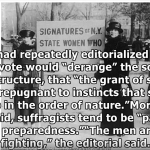 "New York Times NY  via Youtube: ""New Yorkers and the Women's Suffrage Movement"""