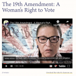 Documentary: The Nineteenth Amendment: A Woman's Right to Vote